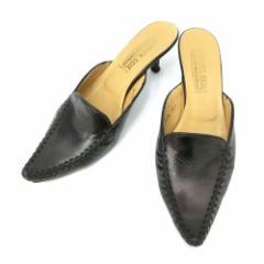 PATRICK COX wannabe パトリックコックス ワナビー「35 1/2」シャープトゥレザーミュール (靴シューズ サンダル) 084670