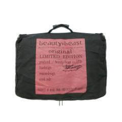 初期 beauty:beast ビューティービースト 名作アンティークエンブレム大型3wayバッグリュックショルダー 084695