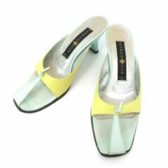 PATRICK COX パトリックコックス「37 1/2」カラフルレザーミュール (靴シューズ サンダル) 084920