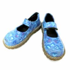 Dr.Martens ドクターマーチン Kids UK10」ハートモンクストラップブーツ (靴シューズ) 084953