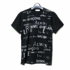 COMME des GARCONS コムデギャルソン 2003 エクストリームアンバランスメント期 メッセージロゴTシャツ 085240
