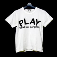 PLAY COMME des GARCONS 2002 プレイ コムデギャルソン「M」アーチロゴTシャツ (レディースサイズのM) 085257