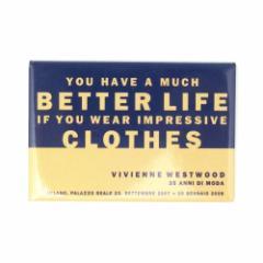 【新品】廃盤 Vivienne Westwood ヴィヴィアンウエストウッド 限定「イタリア回顧展」マグネット 085401