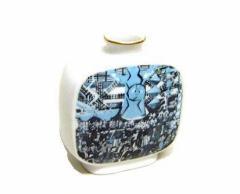 vintage EXPO70 大阪万博「太陽の塔」「MARUMI」花瓶 (岡本太郎 須田剋太) 085920 (エキスポ ヴィンテージ ビンテージ)