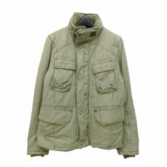 G-STAR RAW ジースターロウ「M」オリーブ 中綿 ミリタリー ジャケット (ジャンパー ブルゾン) 086022