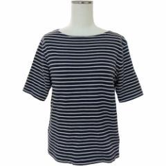 lovelivelife ラブライブライフ「M」マリンボーダーカットソー (半袖Tシャツ) 086125