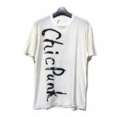 80s Vintage COMME des GARCONS 80年代 ヴィンテージ コムデギャルソン シックパンクTシャツ 086929
