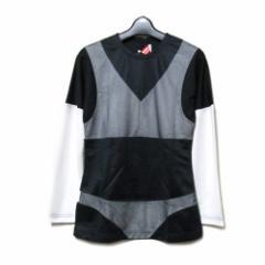 【新品】 COMME des GARCONS × Peggy Moffitt  コムデギャルソン × ペギーモフィット 「M」  レイヤードデザイン Tシャツ 086933