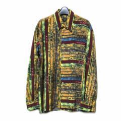 Jean Paul GAULTIER HOMME ジャンポールゴルチエ オム「48」ランダムテキストシャツ (ゴルチェ ブラウス) 087774