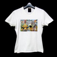 Jean Paul GAULTIER ジャンポールゴルチエ「40」ゴシックプリントTシャツ (ゴルチェ) 088104