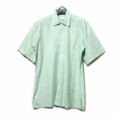 DRIES VAN NOTEN ドリスヴァンノッテン「48」イタリア製 デザイン半袖シャツ (ブラウス) 088130