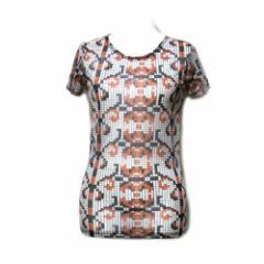 Vivienne Westwood OCEAN ヴィヴィアンウエストウッド オーシャン イタリア製 デジタルデザイン Tシャツ (検 MAN マン) 089047