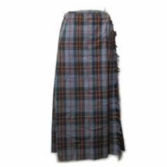 【新品】KANEKO ISAO Price カネコイサオ タータンチェックキルト巻きスカート (日本製 Made in Japan PINK HOUSE ピンクハウス) 089235