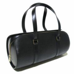 美品 LOUIS VUITTON ルイヴィトン フランス製 スフロエピレザーショルダーバッグ (皮革 ブラック 黒) 089862