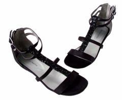 ORiental TRaffic オリエンタルトラフィック「L」宝飾レザーサンダル (シューズ 靴) 089993