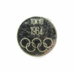 vintage 1964 TOKYO OLYMPIC 東京オリンピック 五輪 メタルバッチ (バッジ ピンズ ヴィンテージ ビンテージ) 090016