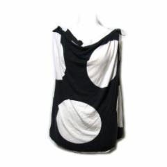 Vivienne Westwood Anglomania ヴィヴィアンウエストウッド アングロマニア「M」イタリア製 スポットカットソー (Tシャツ 水玉) 090692