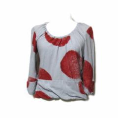 Vivienne Westwood RED LABEL ヴィヴィアンウエストウッド レッドレーベル「3」ドットデザインカットソー (Tシャツ) 090845