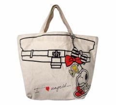 Snoopy スヌーピー 限定キャンバストートバッグ 091480