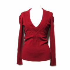 [SALE] Vivienne Westwood RED LABEL ヴィヴィアンウエストウッド レッドレーベル「1」Vネックニットセーター 091824