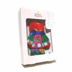 【新古品】廃盤 Vivienne Westwood ヴィヴィアンウエストウッド 東北復興プロジェクト限定ドールハンカチ (パイル タオル) 091872