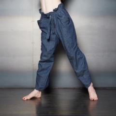 【新品】Vivienne Westwood worlds end ヴィヴィアンウエストウッド「S/M」限定デニムパイレーツパンツ (サベージ) 092500