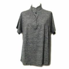 ヨーガンレール JURGEN LEHL「M」ヘンリーネックカットソー (Tシャツ 天然素材 草木染) 092777