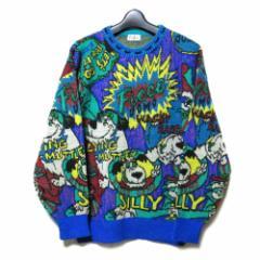 80s Vintage YOSHIYUKI KONISHI FICCE UOMO 80年代ヴィンテージ ヨシユキヨニシ フィッチェ ウォーモ ケンケンニットセーター 093246
