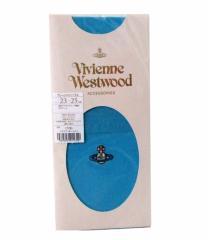 【新古品】廃盤 Vivienne Westwood ヴィアンウエストウッド ワンオーブプレーンオーバーニー (靴下 ハワイオーシャン) 093928