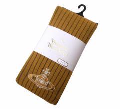【新古品】Vivienne Westwood ヴィヴィアンウエストウッド ジャイアントオーブ刺繍タイツ (ストッキング 靴下 イエロー) 094105