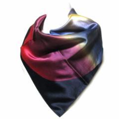【新古品】廃盤 Vivienne Westwood ヴィヴィアンウエストウッド アートシルクスカーフ (ハンカチ) 095342