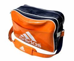 adidas アディダス ロゴボストンショルダーバッグ (鞄) 095367