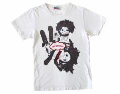 HYSTERIC GLAMOUR ヒステリックグラマー 白半袖プリントTシャツ 095494