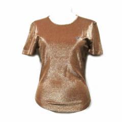 美品 Vivienne Westwood RED LABEL ヴィヴィアンウエストウッド レッドレーベル「M」イタリア製ワンオーブラメ半袖Tシャツ 095760