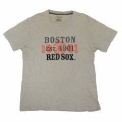 UNIQLO ユニクロ「L」BOSTON RED COXメジャーリーグTシャツ (ボストレッドソックス) 095970