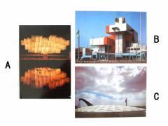 Vintage EXPO70 大阪万博 「スイス館」「オランダ館」「アメリカ館」パビリオンポストカード (エキスポ) 096047【中古】