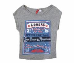 H&M エイチアンドエム ロック半袖Tシャツ 096234
