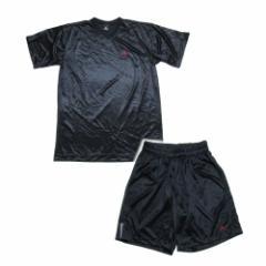 美品 Vintage NIKE JORDAN 14 ヴィンテージ ナイキ「L」黒ジャンプマンセットアップスーツ (ハーフパンツ Tシャツ) 096267