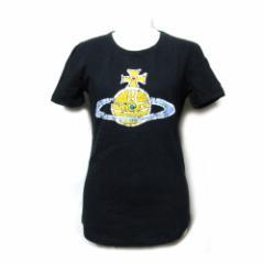 Vivienne Westwood RED LABEL ヴィヴィアン ウエストウッド レッドレーベル「XS」タイムマシーンオーブ半袖Tシャツ 096274