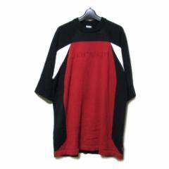 美品 Vintage NIKE ヴィンテージ ナイキ「XL」マイケル ジョーダン 17 半袖デザインニットセーター (サマーニット) 096406