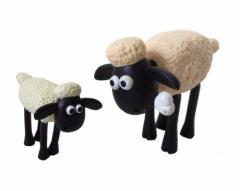 Shaun the sheep ひつじのショーン フィギュア2体セット 096778