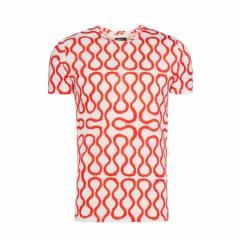 【新古品】Vivienne Westwood ヴィヴィアンウエストウッド イタリア製 レッド×ホワイト スクイーグルTシャツ (日本未入荷 半袖) 096815