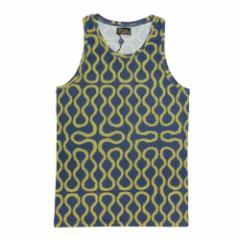 【新古品】Vivienne Westwood ヴィヴィアンウエストウッド イタリア製 ゴールド×ブルー スクイーグルノースリーブTシャツ 096825