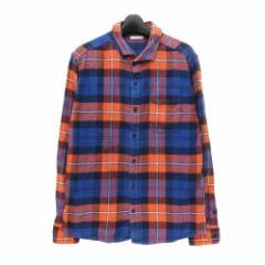 GU UNIQLO ジーユー ユニクロ「XL」タータンチェック ネルシャツ (長袖) 097091