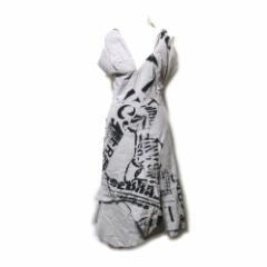 美品 Vivienne Westwood RED LABEL  ヴィヴィアンウエストウッド レッド レーベル「2」アシンメトリーアナーキーワンピース 097501