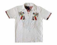 美品 TEN 天 本刺繍Tシャツ (半袖) 098031
