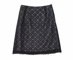 VIVAGARCON ヴィバギャルソン レーススカート (黒 ブラック 日本製 Made in Japan) 098034