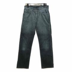 UNIQLO ユニクロ「30」5ポケット コーデュロイパンツ (黒 ブラック) 098269