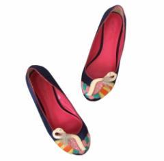 A.I.C エーアイシー「L」刺繍アートパンプス (AIC 靴 シューズ) 098357
