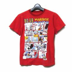 W&LT ダブルアンドエルティー  アメコミTシャツ (Walter Van Beirendonck ウォルト WandLT 半袖 赤) 098434